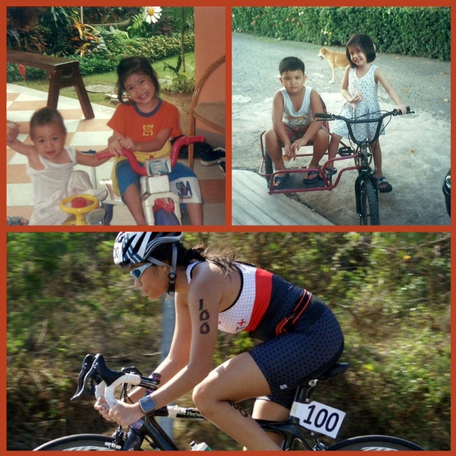 Bea at 5 years old and at the Subit ITU 2012.