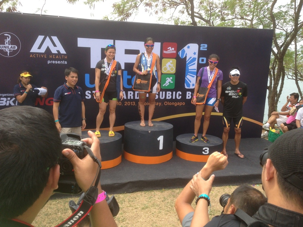 Other female winners in the Standard Distance Category
