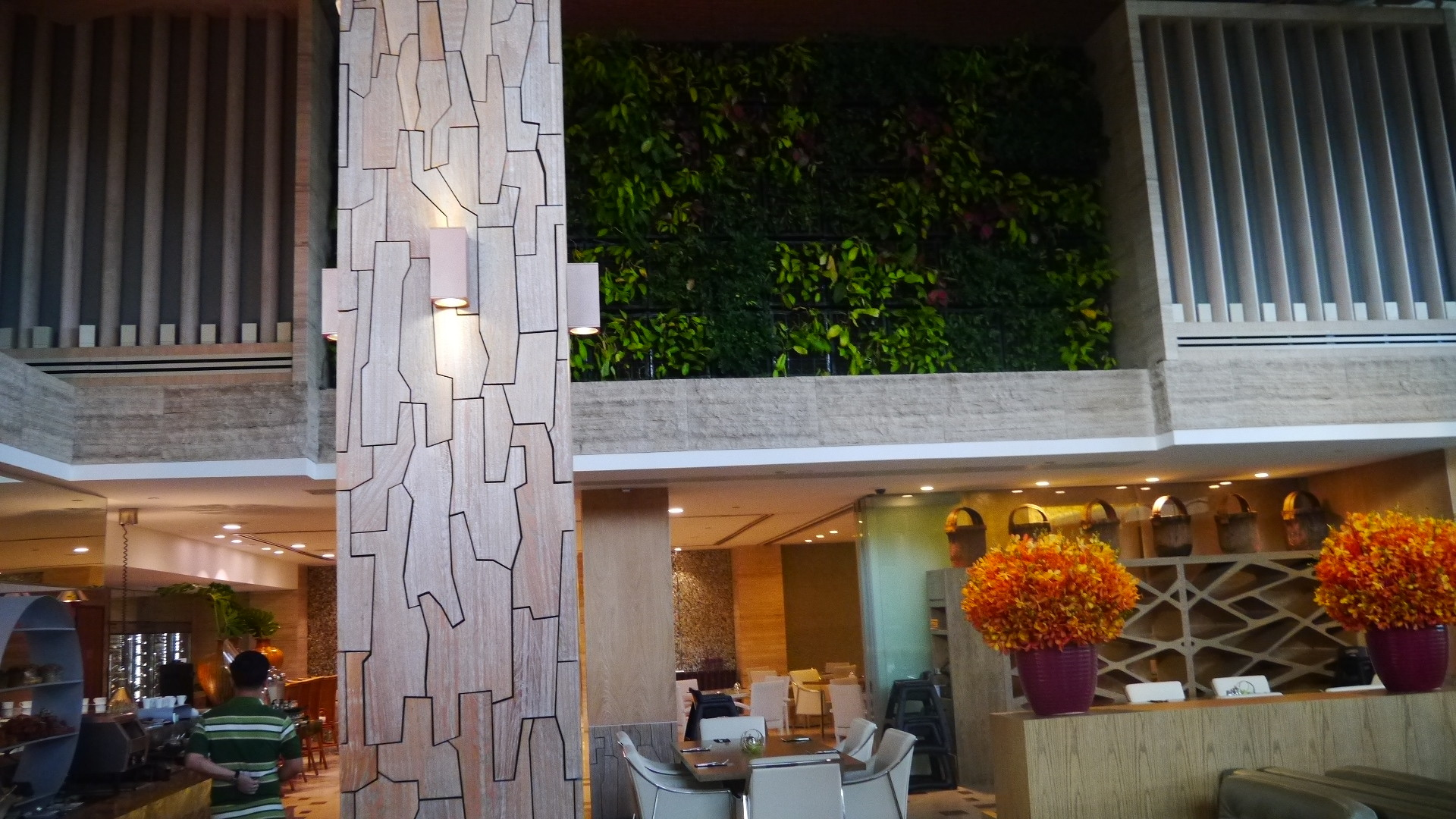 "The coffee shop of Equarius Hotel was named ""Forest"" thus the nature and trees motif, great imagination!"
