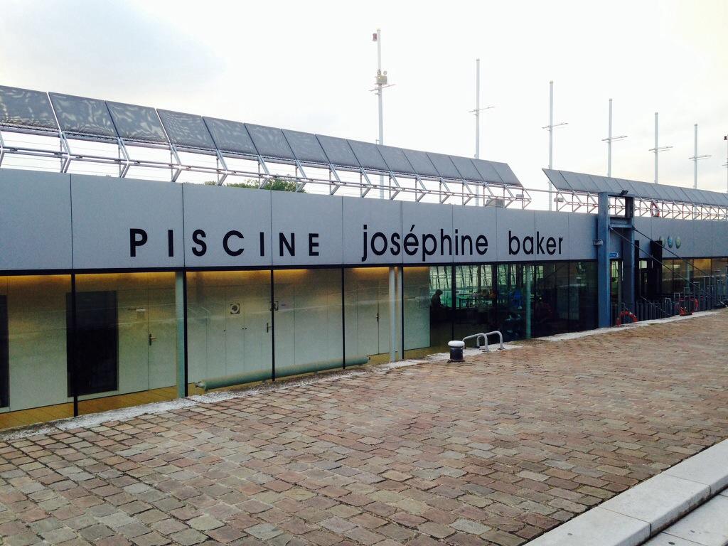Facade of Piscine Josephine Baker