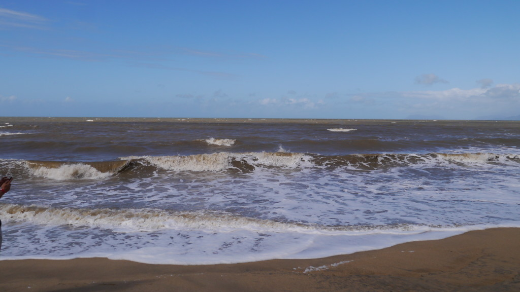 ...and another view of the choppy waters!