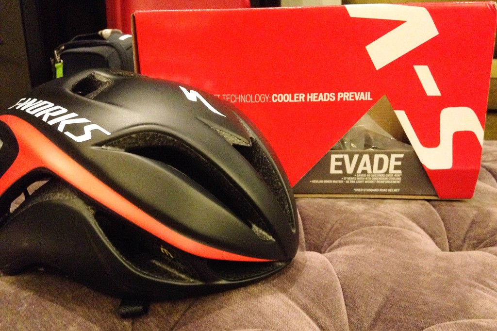 My new Evade helmet!